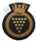 CORNWALL - Blazer Badge~OFFICIALLY LICENCED PRODUCT